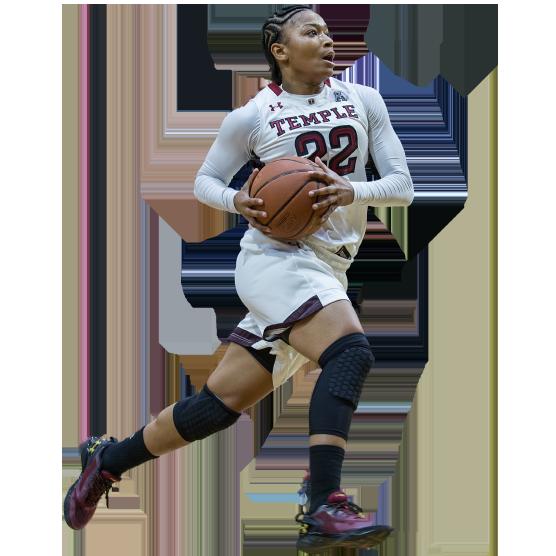 Temple women's basketball player