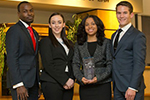 Temple's National Trial Team, the Puerto Rico Trial Advocacy Competition winners.